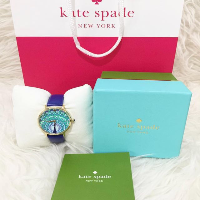 Kate Spade Watch Blue Peacock