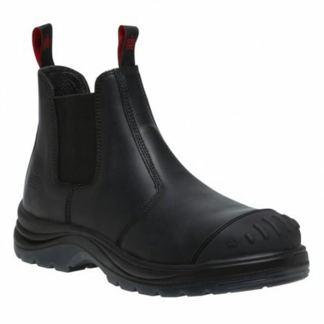 KingGee-Steel Cap Boots Size UK10 / USA11
