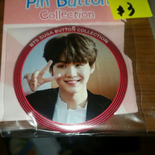 KPOP BTS Suga pin