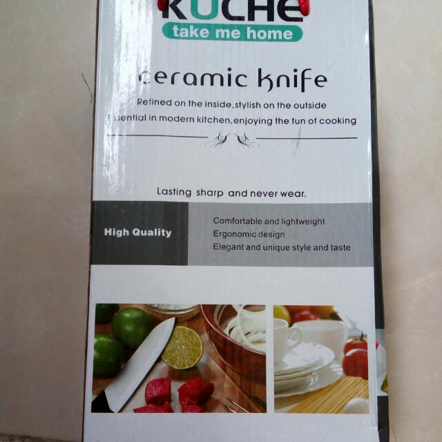 Kuche Ceramic Knife Set