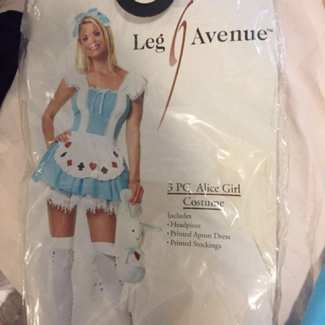 Leg avenue alice costume