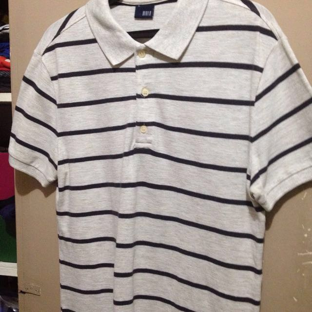 Markdown Sale!!!! Blued Stripes Polo Shirt