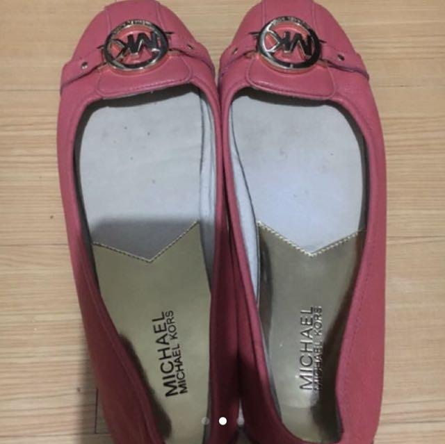 Michael Kors MK Flat Shoes size 9.5