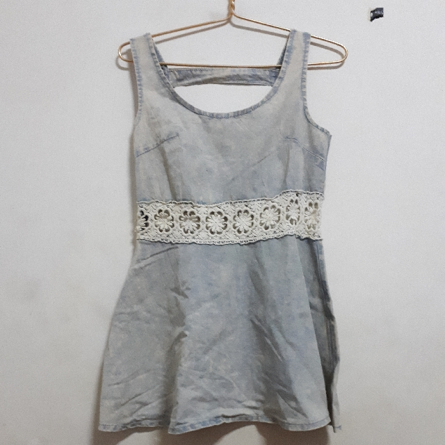 Mini Dress Denim