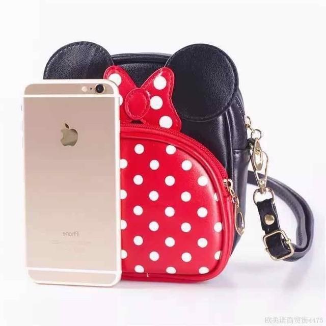 cute  micky mouse shoulder bag/sling bag
