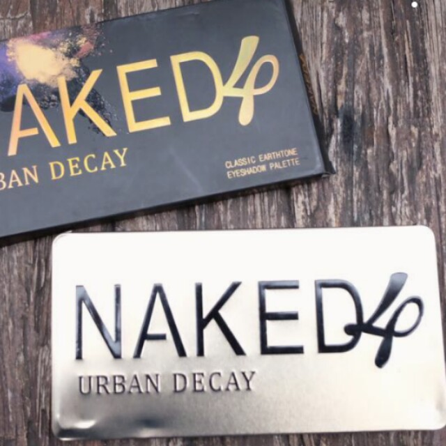 NAKED 4 Eyeshadow 24 warna shimmer and matte