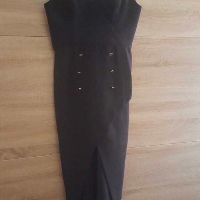 Navy Shona Joy 3/4 Dress