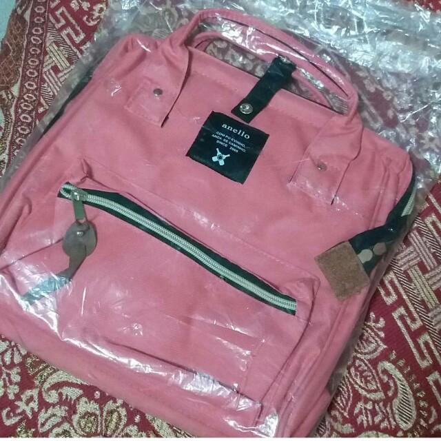 New Anello pink bag
