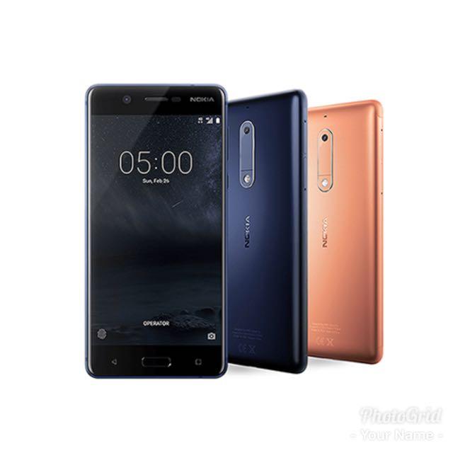 Nokia 5 八核心5.2吋雙卡金屬智慧機 非apple