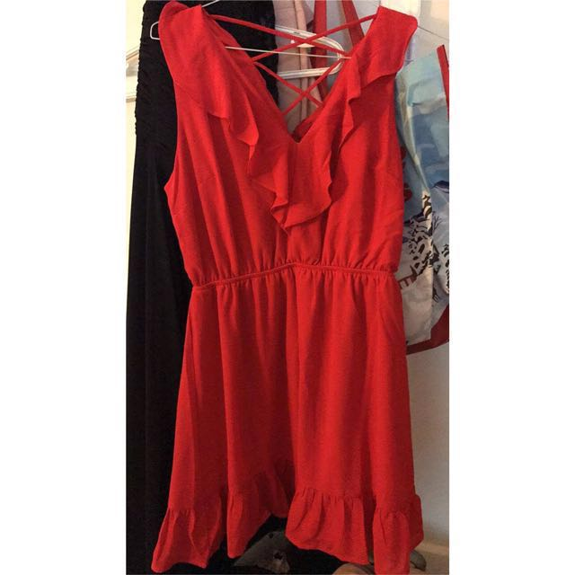 Orange Summer Dress size M