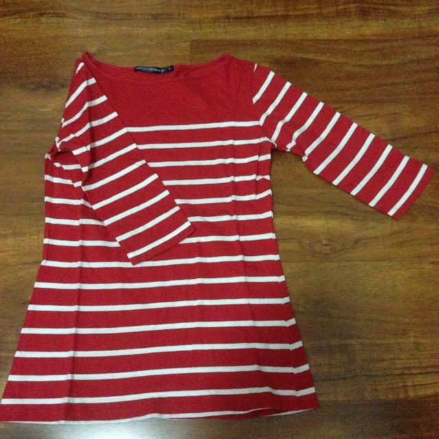polo tshirt red