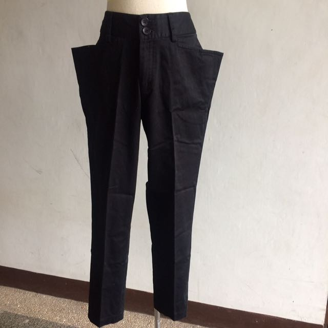 R.A.F P&P Slim Pants with Exaggerated Pockets