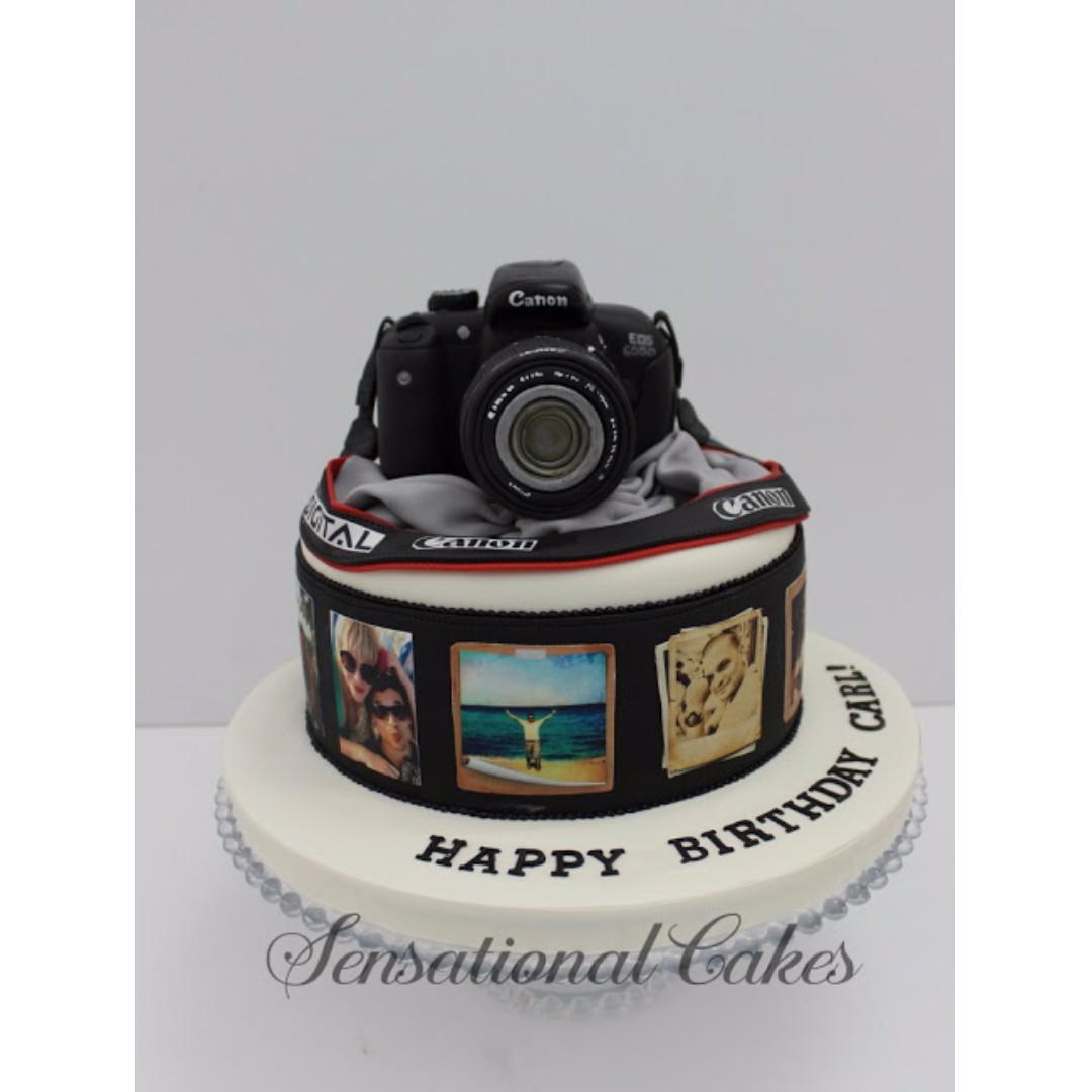 Tremendous Real Life 3D Art Sugar Camera 3D Cake Dslr Cake Singapore Personalised Birthday Cards Sponlily Jamesorg