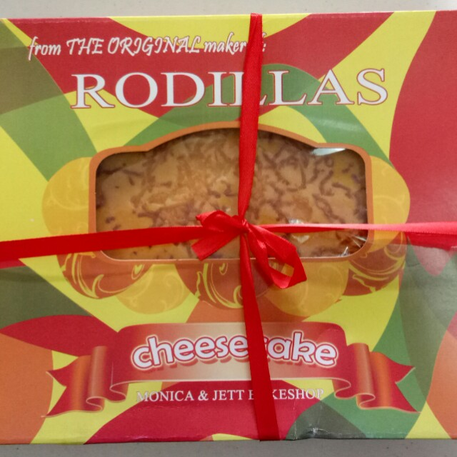 Rodillas Cheese Cake whole - 270; Pack of Slices (5 slices) - 100