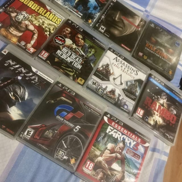 Rush Sale! 10 PS3 Games