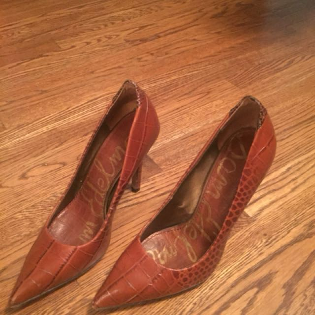 Sam Edelman brown/black heels size 6