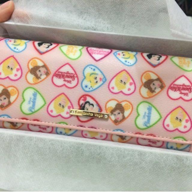 Samantha Vega X Disney Pink Dompet Wallet