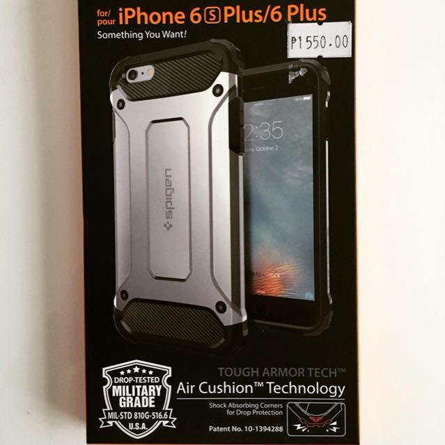 factory authentic 66003 738e0 Spigen Tough Armor Tech case for Iphone 6/6s plus (authentic) on ...