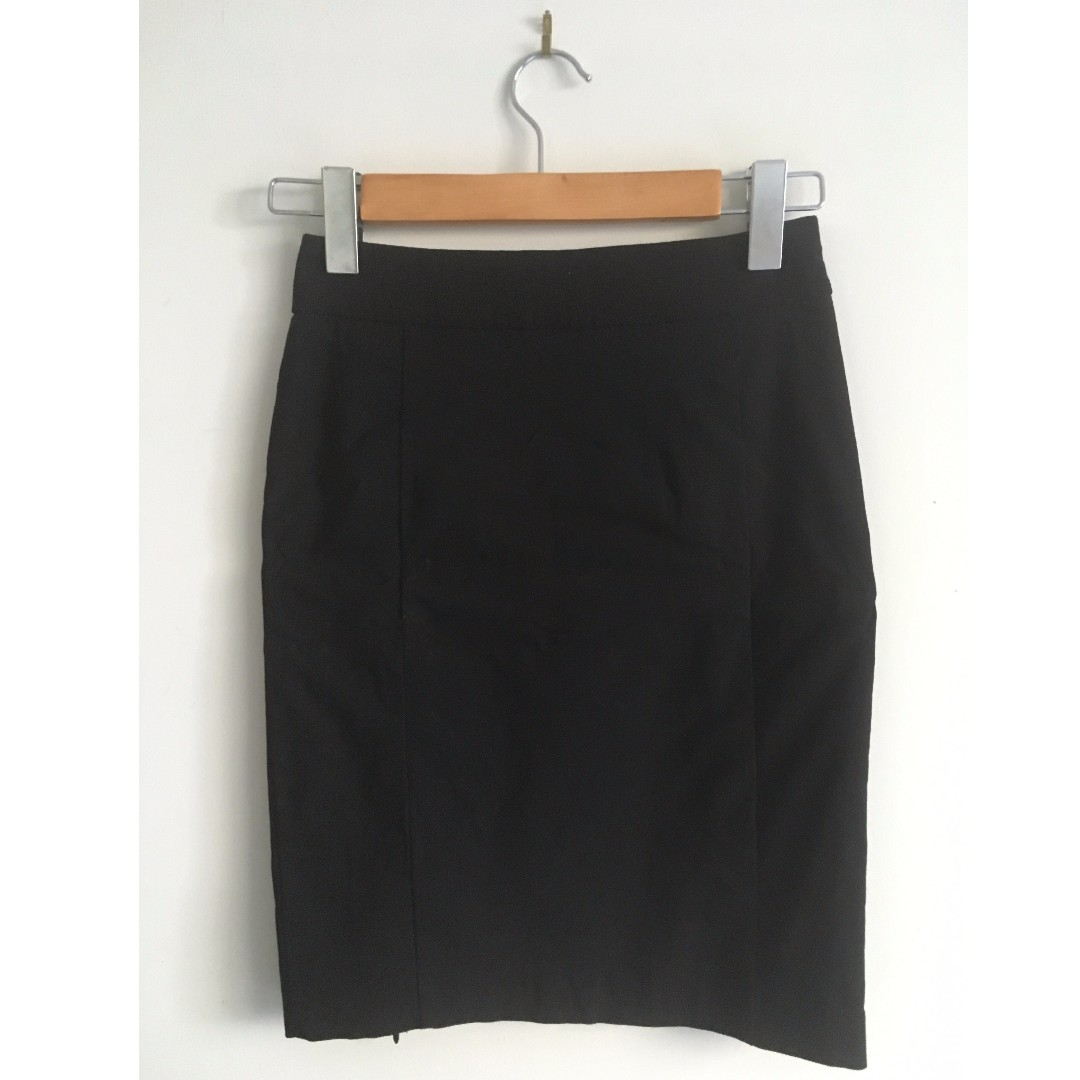 TARGET Black Business Work Skirt WORN ONCE
