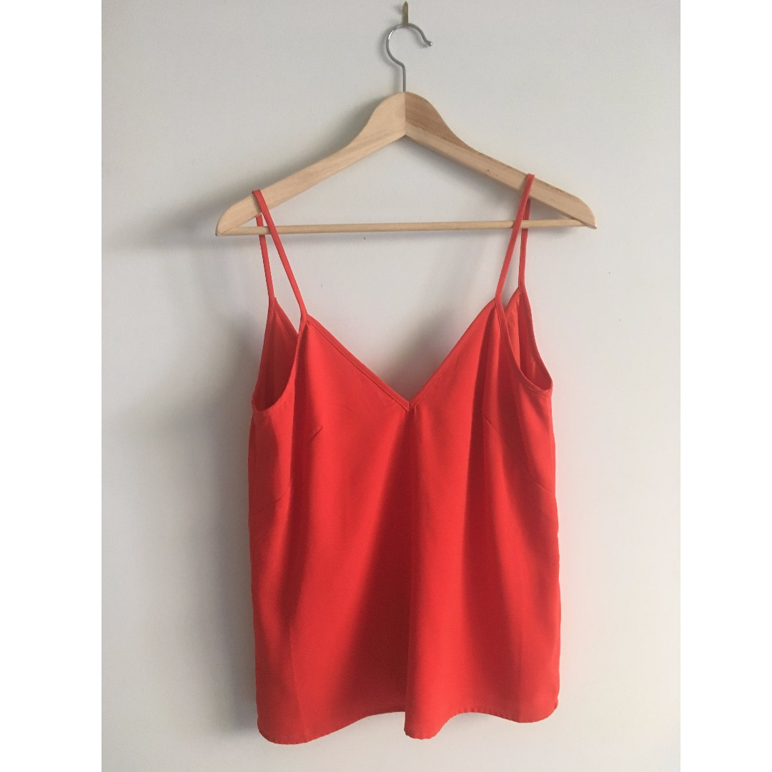 THE FIFTH LABEL Red Singlet Cami Top