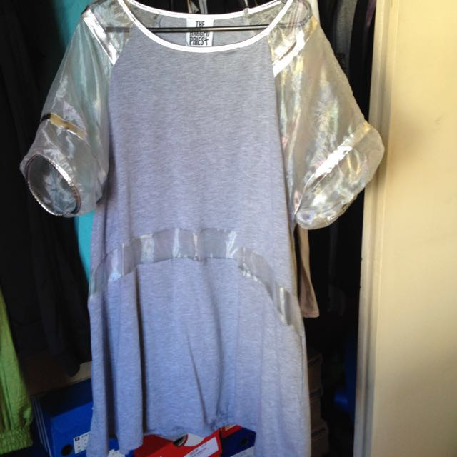 The Ragged Priest Shirt Dress Us12