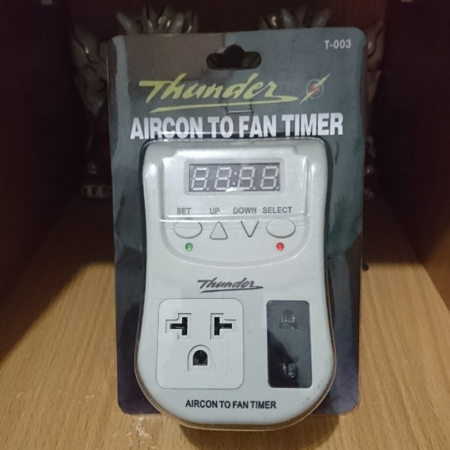 Thunder Aircon to Fan Timer