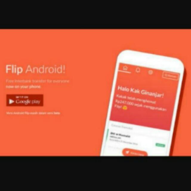"""Transfer Antar Bank BEBAS biaya ADMIN? Aplikasi """"FLIP"""" Solusinya 😉"""