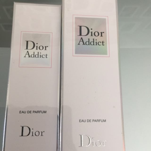 Two Dior addict Edp 100ml plus 50ml new