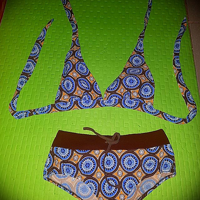 Two piece swimwear