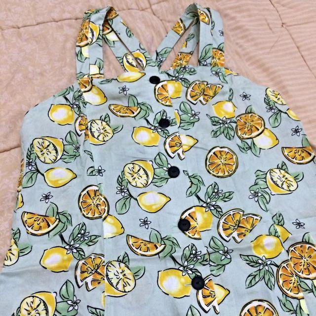 Uniqlo Lemon Dress