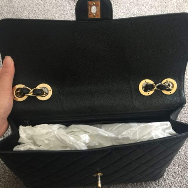 *URGENT SALE* Chanel Jumbo Flap Caviar Leather with GHW