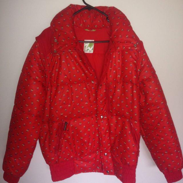 VINTAGE puffer jacket