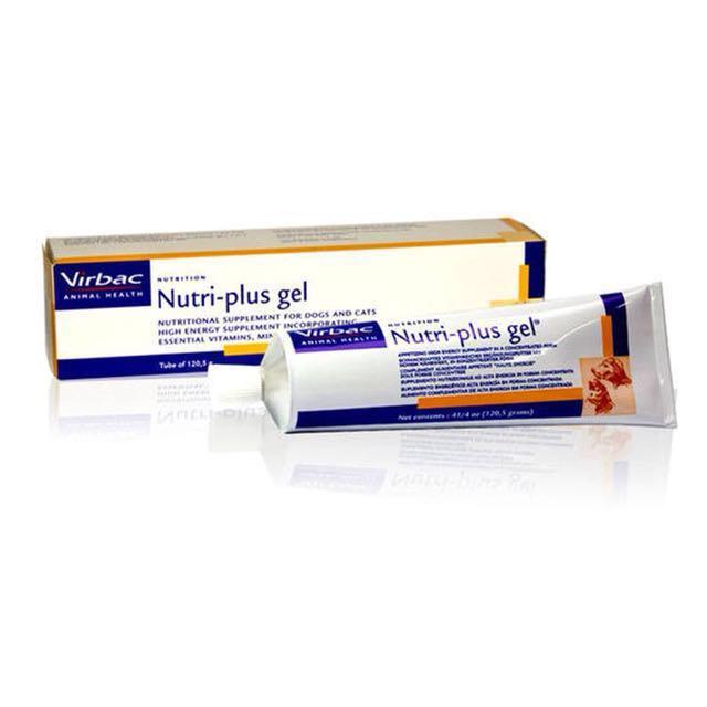 virbac vitamin kucing vitamin anjing nutri gel vita gel nutri plus gel