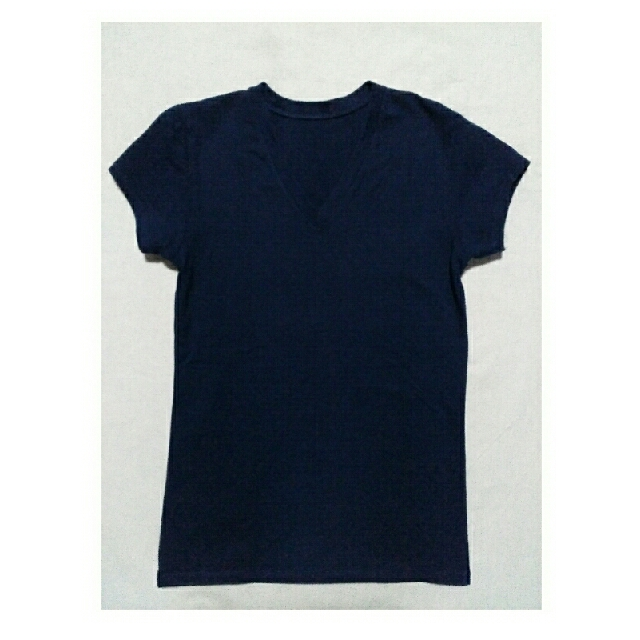 V-neck Navy Blue