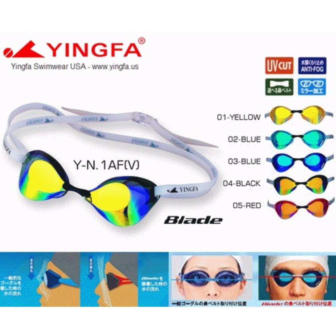 59cee8f4d915 Yingfa Blade Type Racing Goggle
