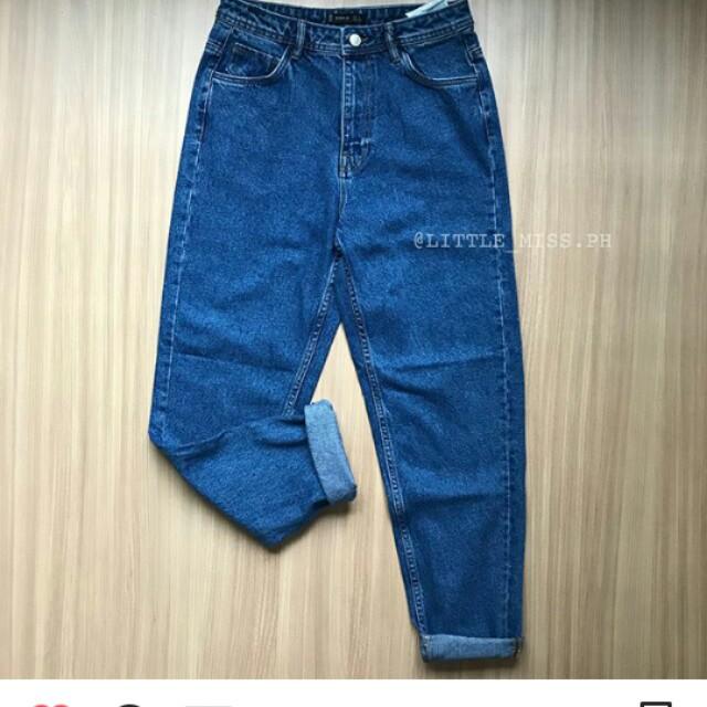 fd492f9ef1 Zara High-Rise Mom fit Jeans