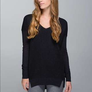 Lululemon 'the sweater life' sweater