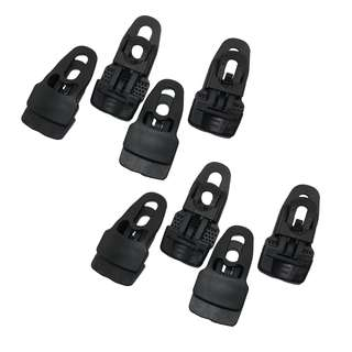 MIDI TARP CLIP (BLACK) - 8 Pieces - Bungee Ties not included