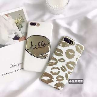 Gold White Casing