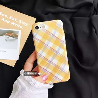 Yellow Checkers Casing
