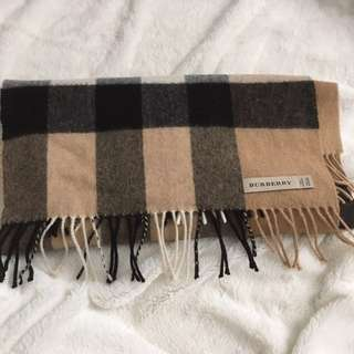 Authentic burberry long scarf