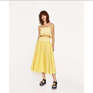 Zara同款平口+長裙