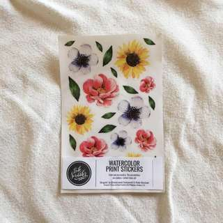 Floral Sticker Set