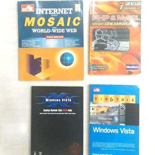 Internet Mosaic, Buku2 Utk vista Dll