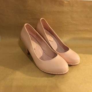 里琪 ni-kiyo 粉色高跟鞋