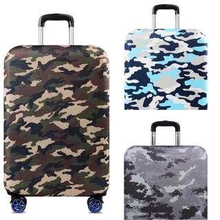 ✈️ 襟磨加厚版迷彩行李箱保護套 🌲🌴🌳