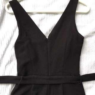 Dynamite XS Black Jumpsuit