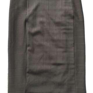 Zara Black Pencil Skirt - Medium