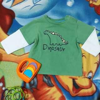 Dinosaur sweatshirt longsleeves