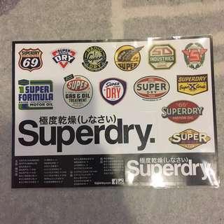 🚚 Superdry 防水貼紙